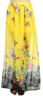 Freeway Printed Maxi Skirt
