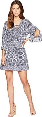 Jack by BB Dakota Junior's Saylor Ikat Printed Dress