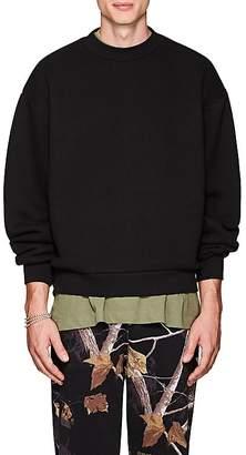 Alexander Wang Men's Cotton-Blend Oversized Sweatshirt