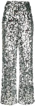 MM6 MAISON MARGIELA sequin-embellished tulle trousers