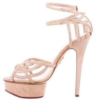 Charlotte Olympia Isadora Platform Sandals
