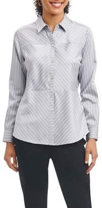 Foxcroft Monica Non-Iron Stripe Shirt