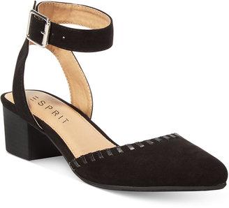 Esprit Saffron Block-Heel Pumps $49 thestylecure.com