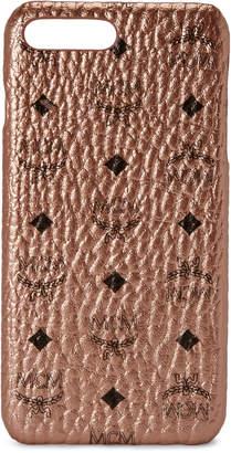 MCM iPhone Case Visetos 6S/7/8 Plus Champagne Gold