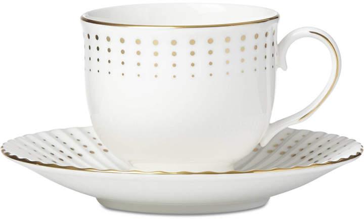 Lenox Golden Waterfall Tea Cup/Saucer