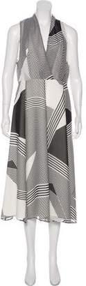 LK Bennett Silk Maxi Dress