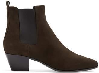 Saint Laurent Rock suede chelsea boots