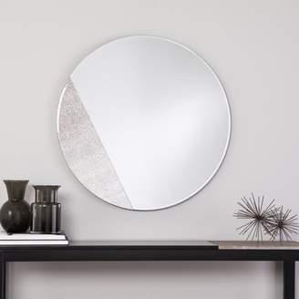 Southern Enterprises Holly & Martin Towson Contemporary Frameless, Mirrored