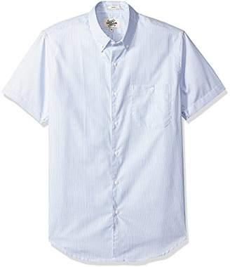 Casual Terrains Men's Tailored Slim-Fit Versatile Button-Down Buttoned Pocket Shirt