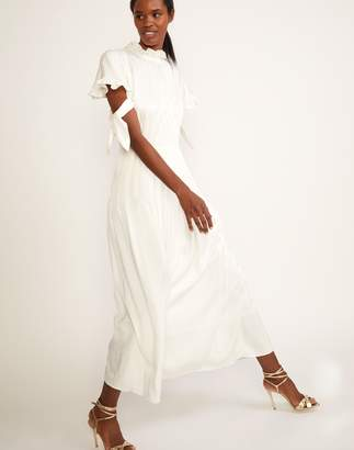 Cynthia Rowley Talia Tie Sleeve Dress