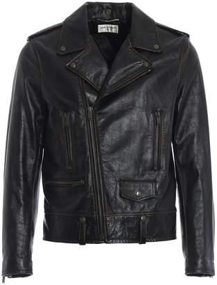 Saint Laurent Iconic Biker Jacket