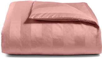 Charter Club Closeout! Damask Stripe Twin Duvet Cover, 100% Supima Cotton 550 Thread Count