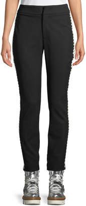 Moncler Bourget Pants w/ Contrast Side Details