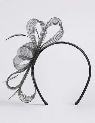 Marks and Spencer Textured Fascinator Bow