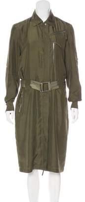 Ralph Lauren Silk Belted Dress
