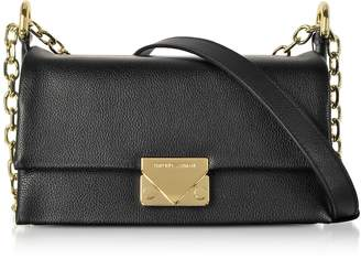 99fd023e7863 at Forzieri Emporio Armani Grainy Leather Small Shoulder Bag
