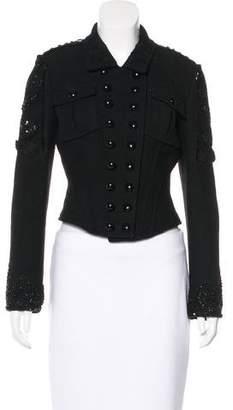 Blumarine Embellished Wool Jacket