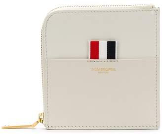 Thom Browne half zipped wallet