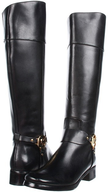 MICHAEL Michael Kors Fulton Harness Boot (Black) - Footwear