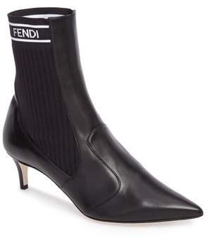 Fendi Rockoko Chelsea Sock Boot