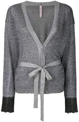 Antonio Marras lurex distressed effect cardigan