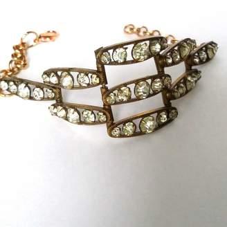 Belle Epoque La Authentic Art Deco Diamanté Cuff