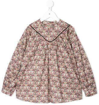 Fith butterfly printed blouse