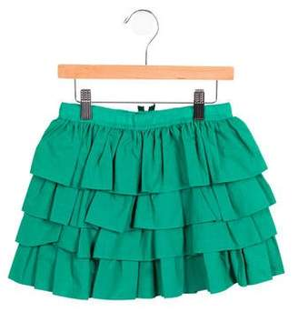 Lanvin Petite Girls' Tiered A-Line Skirt w/ Tags