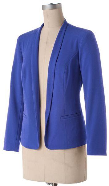 Sag Harbor solid jacket - petite