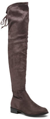 Over The Knee Flat Knee High Boots