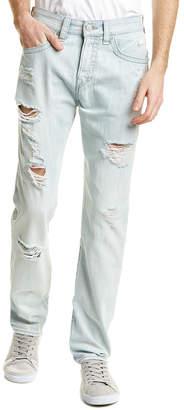 True Religion Dean Worn Tropics Straight Leg