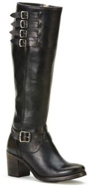 Frye Kelly Leather Knee-High Boots $438 thestylecure.com