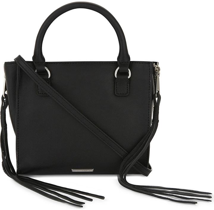 Rebecca MinkoffRebecca Minkoff Regan mini leather cross-body bag