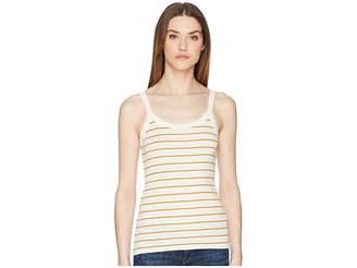 Vince Chalk Stripe Scoop Neck Cami Women's Sleeveless