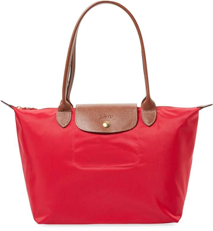 Longchamp Women's Le Pliage Long Handle Small Nylon Tote Bag