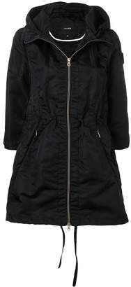 Duvetica hooded water-resistant coat
