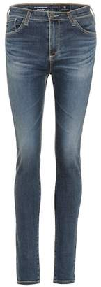 AG Jeans The Farrah high-waisted skinny jeans