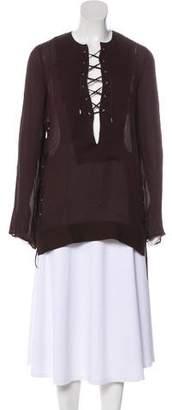 Tom Ford Silk Tunic Top