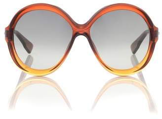 Christian Dior Sunglasses DiorBianca oversized sunglasses