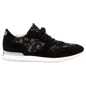Twin-Set Twin Set Black Suede Trainers
