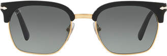 Persol Po3199s 53 Black Square Sunglasses