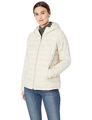 8caa5328ee29d Amazon Essentials Lightweight Water-Resistant Packable Hooded Puffer Jacket  Down Alternative Coat,(UK