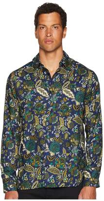 The Kooples Shirt with A Classic Collar Men's Long Sleeve Button Up