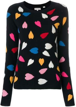 Parker Chinti & confetti heart jumper