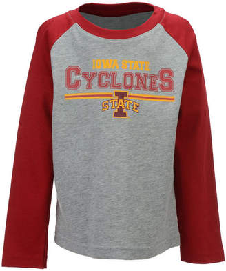 Outerstuff Iowa State Cyclones Field Line Long Sleeve T-Shirt, Little Boys (4-7)
