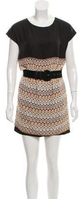 Missoni Wool Crochet Sleeveless Dress