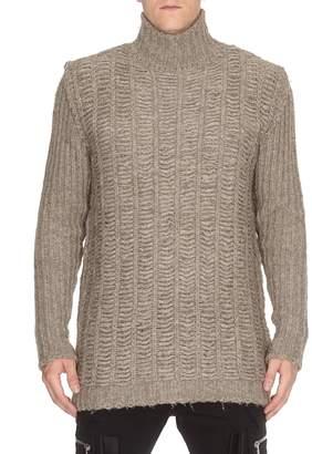 Mens Chunky Turtleneck Sweater Shopstyle Uk