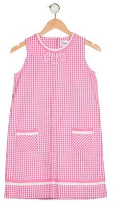Lilly Pulitzer Girls' Gingham Print Dress