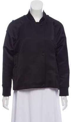 Alexander Wang Knit-Trimmed Bomber Jacket