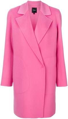 Theory boxy blazer-style coat